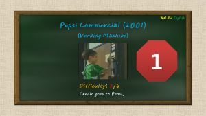 Pepsi Commercial (2001) (Vending Machine, coke, boy)